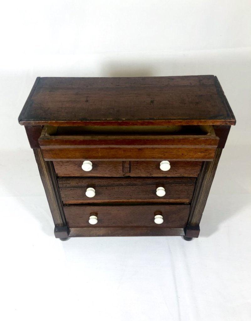 Vintage 19th Century Miniature English Dresser