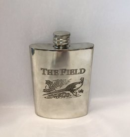 "Vintage English Flask ""The Field"""