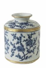 Blue/White Blossom Tissue Box