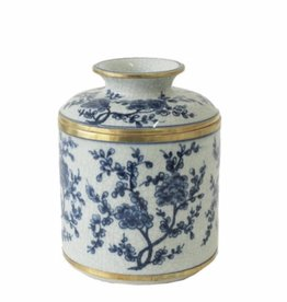 Blue/White Blossom Tissue Box