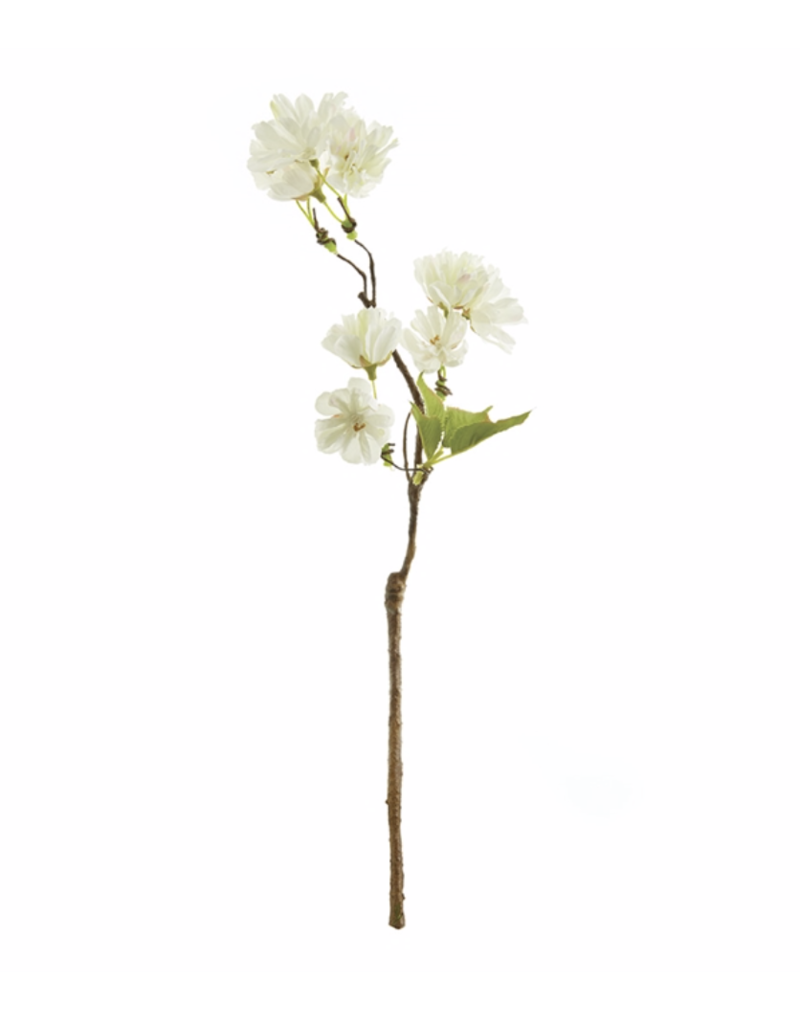 "Cherry Blossom Cutting 15"" White"