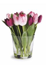 """Dutch Tulip Arrangement in Vase 11"""""""