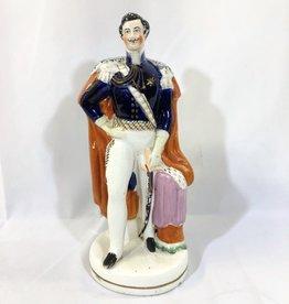 Staffordshire Royal Male Statue