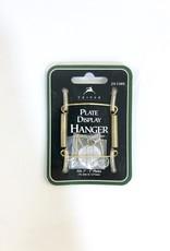 """3""""-5"""" Brass Plate Hanger"""