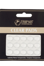 Self Sticking Clear Pads- 15 Pack
