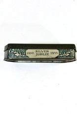 Vintage English Antique Tin 1910-1935 Silver Jubilee