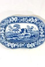 Vintage Antique Spode Platter Small
