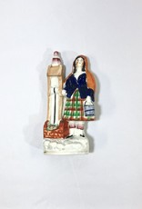 Vintage Staffordshire Girl by Well