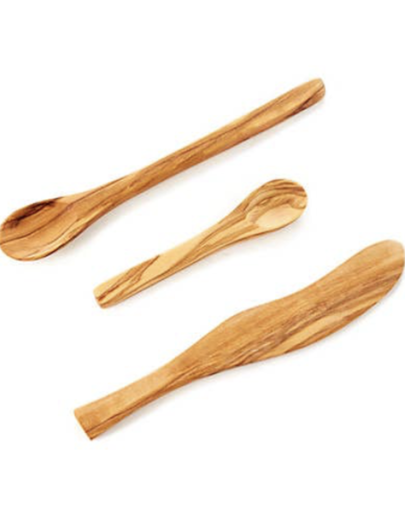 Olivewood Appetizer Spoon (4.5 in)