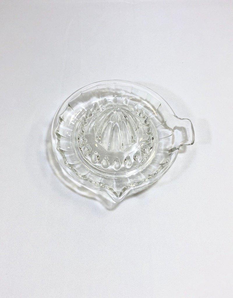 Vintage Fluted Glass Juicer