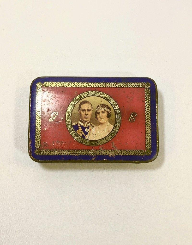 Vintage King George VI  Coronation Tin