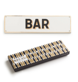 "rosanna ""Bar"" Porcelain Sign"