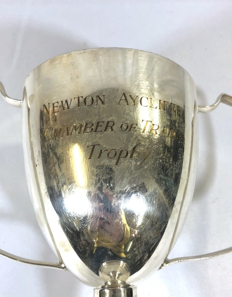 "Vintage English Trophy - ""Newtwon Aycliffe"""