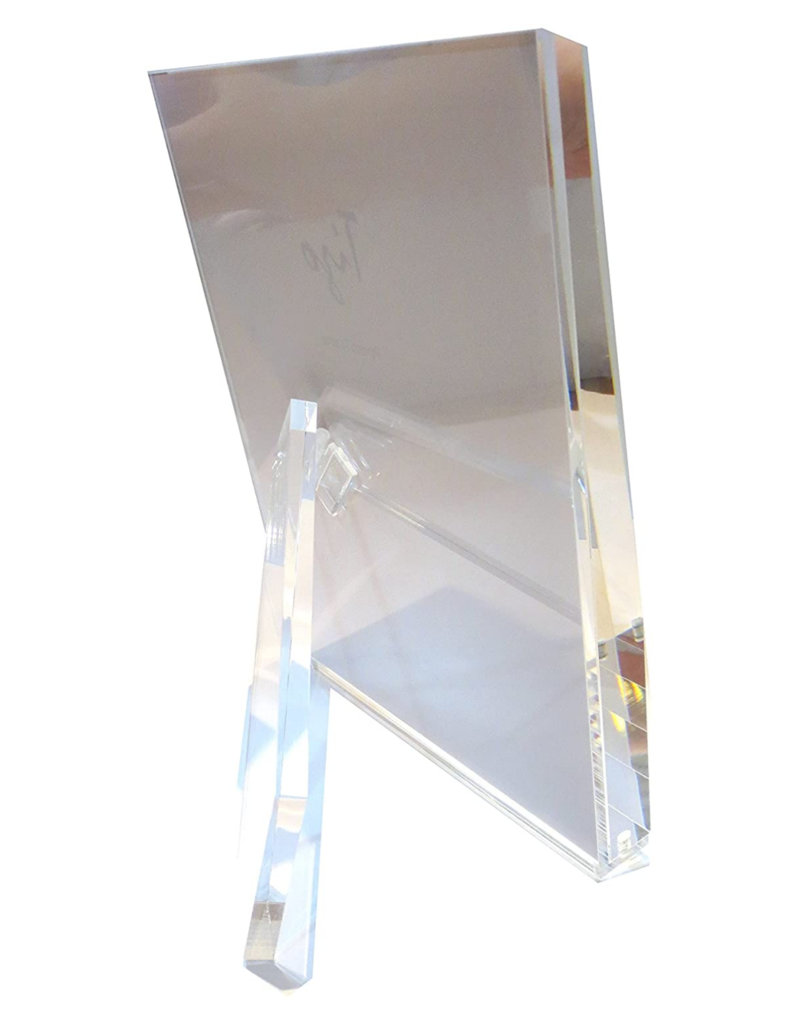 5x7 Lucite Frame (Clear) - with Stand