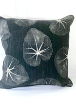 "James & Reid Pillow: Leopold Flint Leaf Pattern 20"" x 20"""