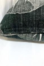 "James & Reid Pillow: Leopold Flint Leaf Pattern 20"" x 20"""