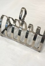 Vintage Silver Plated Arch Design Toast Rack