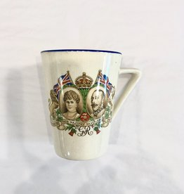 Vintage Commemorative Mug - King George V & Queen Mary