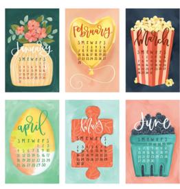 1canoe2 2021 XL Wall Calendar Refill: Getaways