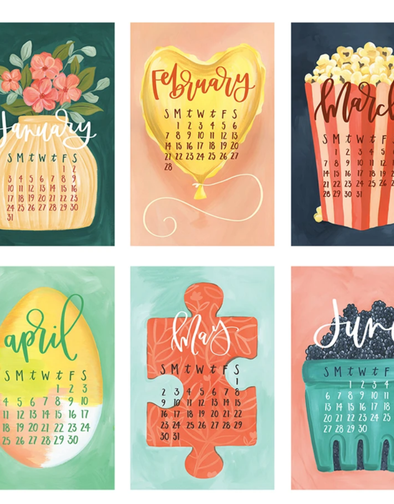 1canoe2 2021 XL Wall Calendar Refill: Gather