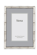"Silver Bamboo Photo Frame - 5"" x 7"""