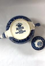 Vintage English Mason's Vista Rounded Teapot