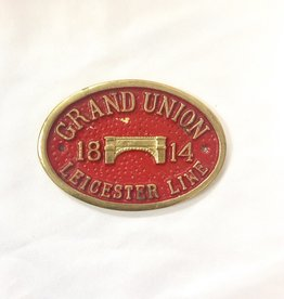 "Vintage Small Red""Grand Union""  1814 Medal"
