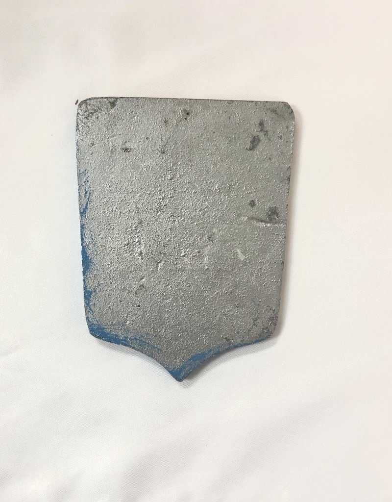Vintage Small Red/Blue/Silver Shield Agricultural Medal