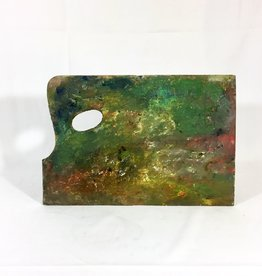 Vintage Painter's Palette - C