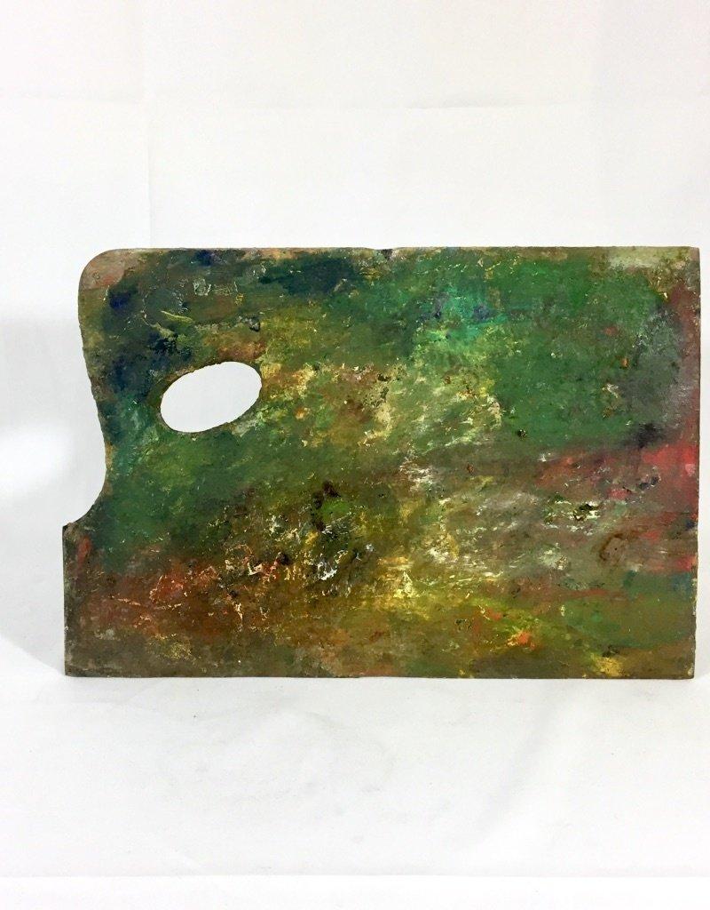 Vintage Painter's Palette - C