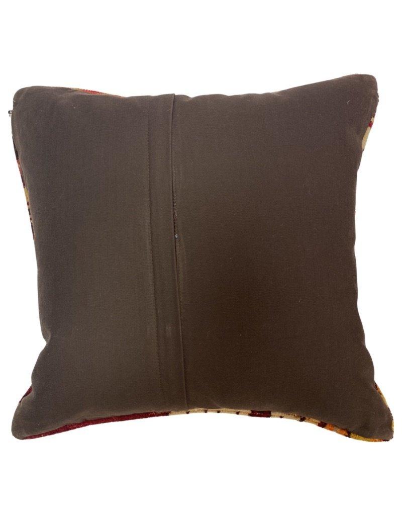 "Patrick Charles Carpet Pillow w/ Down Insert - Alan - 20""x20"""