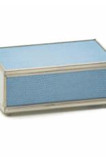 JM Piers Blue Match Box
