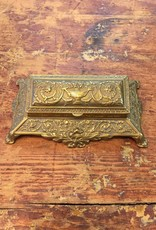Vintage Brass Desk Accessory From Engalnd