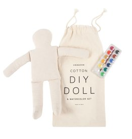 Sir Madam Doll Watercolor Set