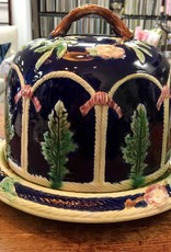 Lincoln & Newark Fair Lg Majolica Cheese Dome