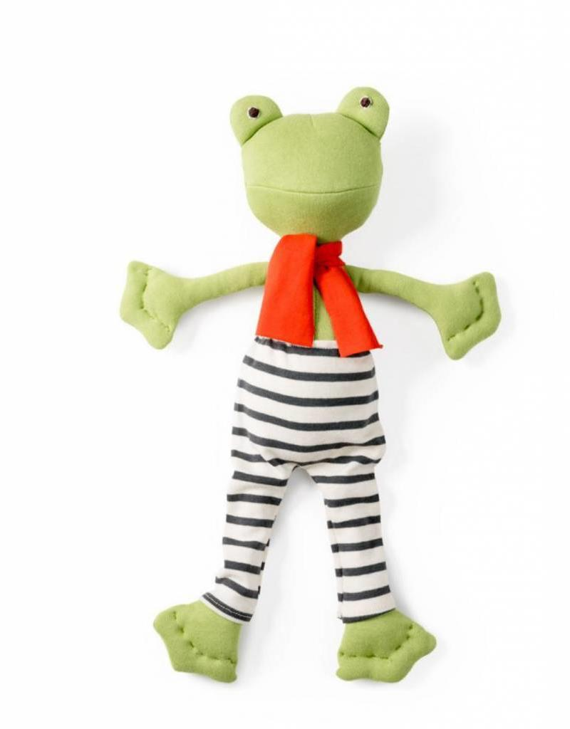 Hazel Village Lewis Toad in Striped Pants and Scarf