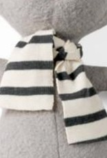 Hazel Village Hazel Village Scarf For Doll - Grey Striped Knit