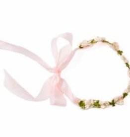Hazel Village Flower Crown For Dolls - Posy Pink