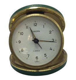 Vintage, Belgian Travel Alarm Clock