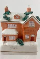 Vintage Orange House Bank