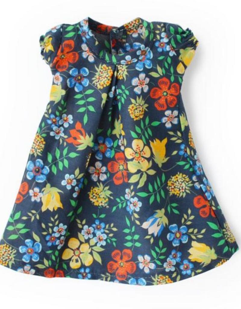 Hazel Village Tea Party Dress For Dolls - Night Meadow