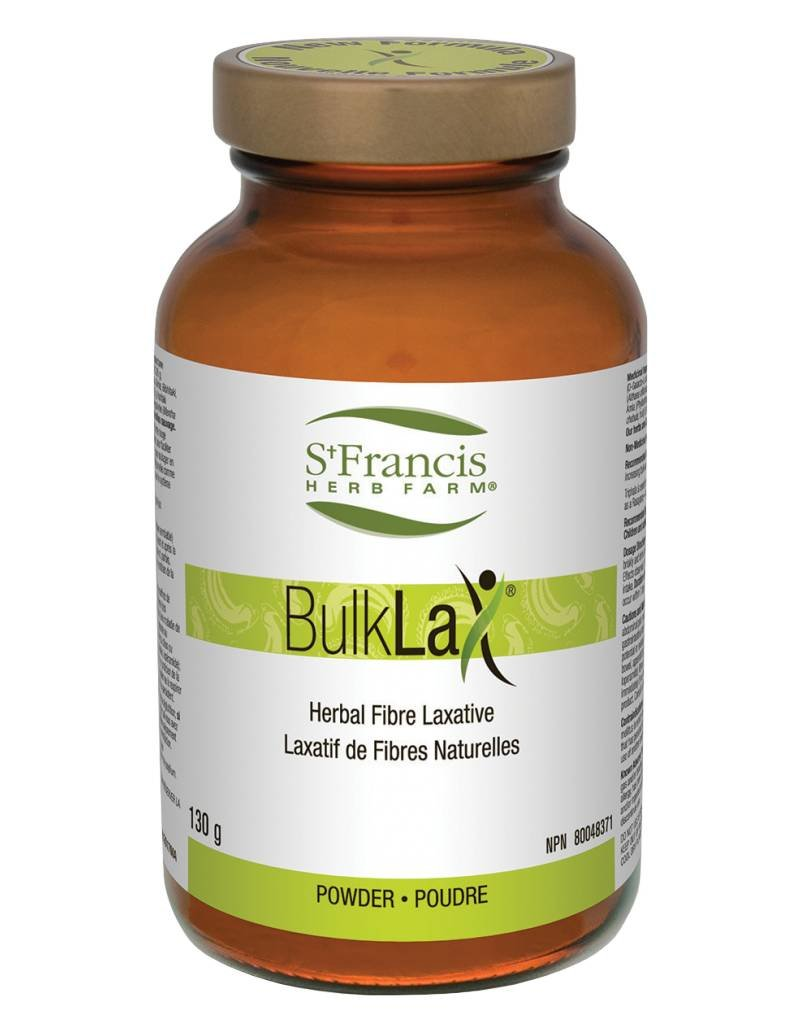 St Francis Bulklax Herbal Fibre Laxative130g