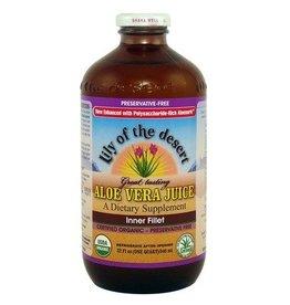 Lily of the Desert Lily of the Desert Aloe Vera Juice Inner Fillet 946ml Glass