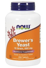 NOW NOW Brewer's Yeast 650mg 200tabs