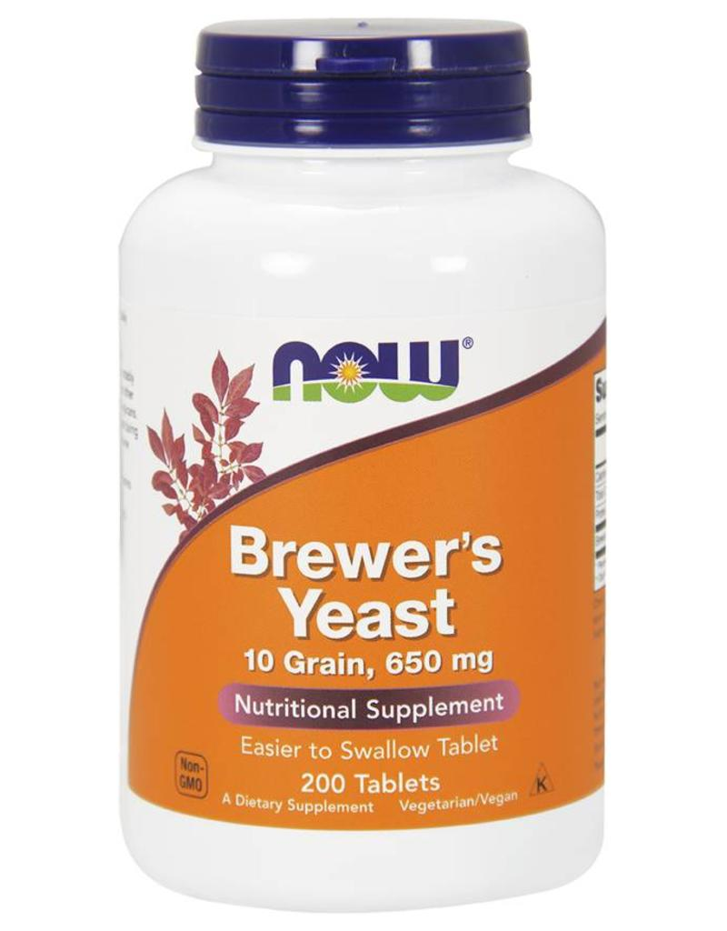 NOW Brewer's Yeast 650mg 200tabs
