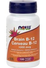NOW Brain B12 1000mcg 100 lozenges