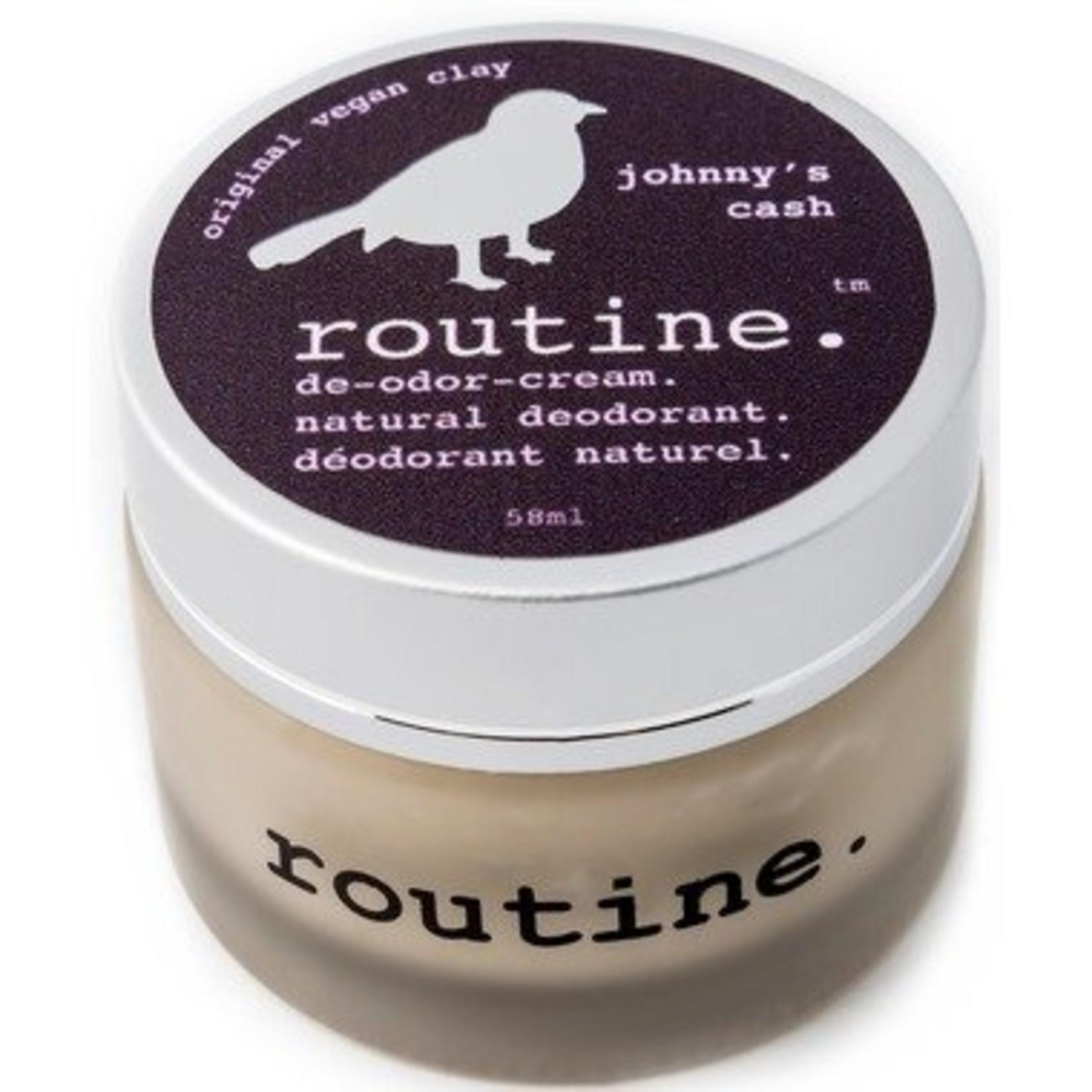 Routine Natural Deodorant Johnny's Cash 58ml