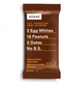 Rx Bar Rx Protein Bar Peanut Butter Box of 12
