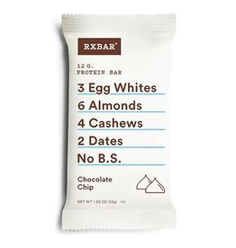Rx Bar Rx Protein Bar Chocolate Chip Box of 12