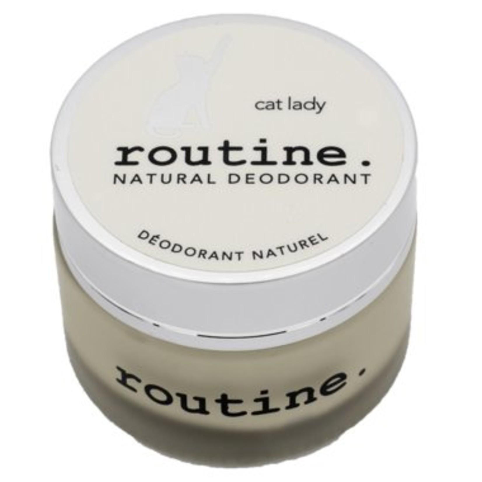 Routine Cat Lady Natural Deodorant 58g